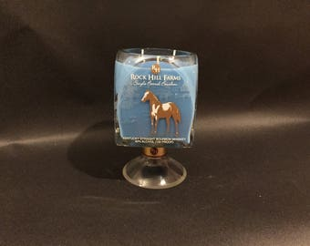 Rock Hill Farms Candle Bourbon Whiskey Bottle  Candle With/Without Pedestal Base. Buffalo Trace Distillery. 750ML. Made to Order !!!!!!