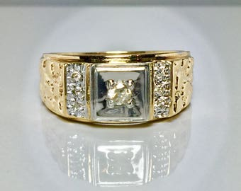 big sale 10k real gold s rolex ring s