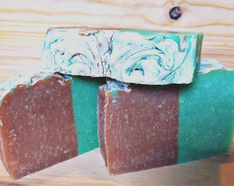 Natural Lemongrass and Tea Tree soap bar