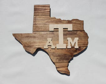 Texas A and M Sign, Texas A and M University, College Station, Aggies, Aggies Sign, Texas Sign, Texas A and M Logo, Texas A and M Art