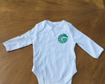 Personalized Onsie with Baby's Initial (Set of 3)