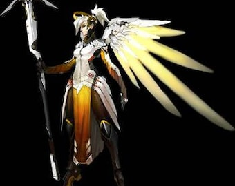Mercy overwatch cosplay complete set