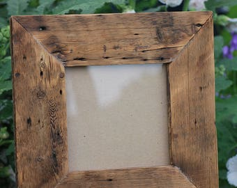 Rustic/wood reclaimed/barn wood barn wood frame