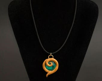 Kokiri Emerald Pendant - Legend Of Zelda
