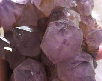 Purple Spirit Quartz Cluster