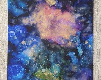 Cosmic Combustion Art Print