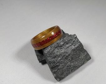 Wood Ring Hawaiian Koa Island Fire bentwood ring, Bands, Jewelry, Mens Wood Ring, Fashion Jewelry