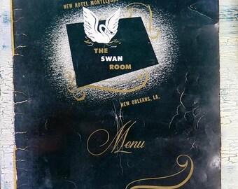 Summer Sale The Swan Room Menu New Hoel Monteleone New Orleans, LA
