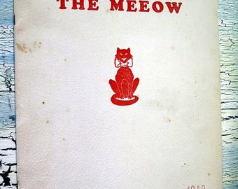 The Meeow 1942 Senior Edition J B Young High School Bemis Tennessee