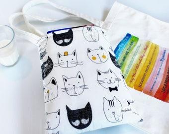 The Cat's Meow BookBud book sleeve