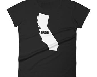 Women's California home t-shirt - California t-shirt - California shirt - California tshirt - California tee