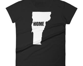 Women's Vermont home t-shirt - Vermont home shirt - Vermont home tshirt - Vermont home t shirt - Vermont home t-shirts