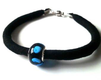 Bracelet small blue dots