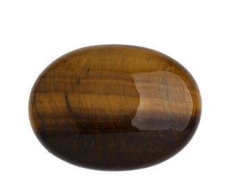 Cabochon-Tiger eye 30x40mm gemstone gemstone * 32803