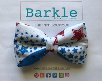 Sparkly Dog Bow Tie