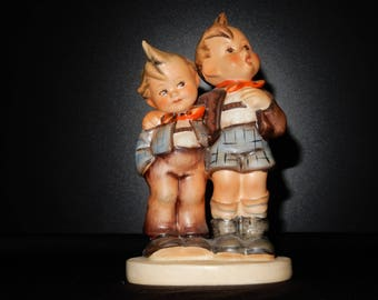 Goebel Hummel Figurine Max & Moritz 123 - TMK3 - Vintage 50's Full Bee in Perfect Condition! Great gift for any collector!