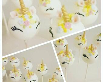 Unicorn/Themed Cakepops - Dozen