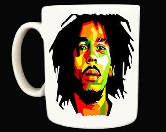 Bob Marley .. Mug / Mugs . reggae