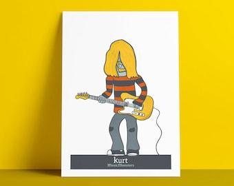 Poster MusicMonsters Kurt