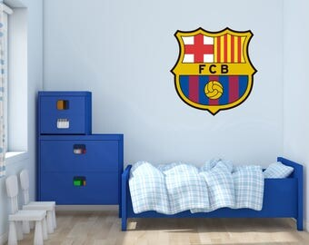 FC Barcelona Logo  -  Wall Decal For Home bedroom Hall Decoration