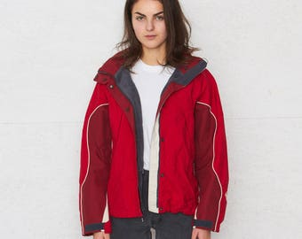 Vintage Red COLUMBIA Jacket