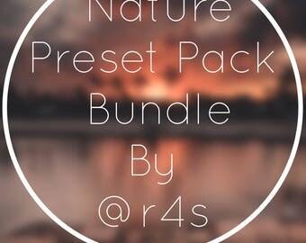 Lightroom and Photoshop Bundle Pack Presets by @r4s / Moody Presets / Nature, Sunset, Landscape, and Lifestyle Presets / Lightroom Presets