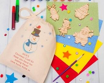 Personalised Christmas Decorations Craft Kit