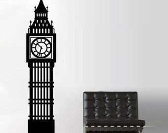 Large Sticker Big Ben London
