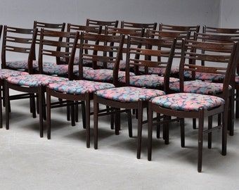 Danish dining chairs  of 4