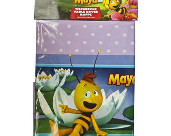 Maya The Bee tablecloth 1 pcs. Maya The Bee tablecover. Tablecover for children's holiday, party or birthday. Maya The Bee party.