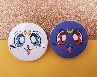 Luna & Artemis Badges, 38mm!