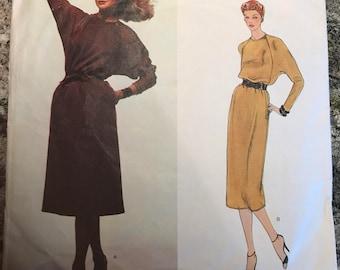 Vogue American Designer Pattern - Geoffrey Beene - 2279 - size 10