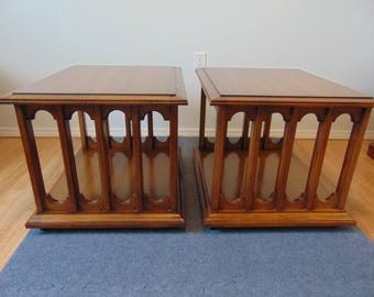 Pair of End Tables by Hekman