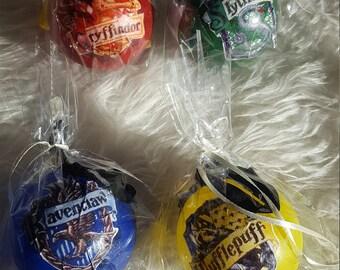 Harry Potter style Christmas balls