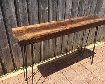 Console Table - Reclaimed wood