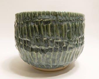Blue Green Planter / Pot