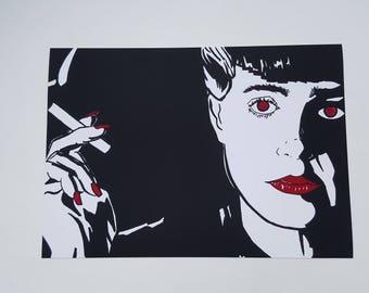 Replicant Rachael, print. Blade Runner (1982)
