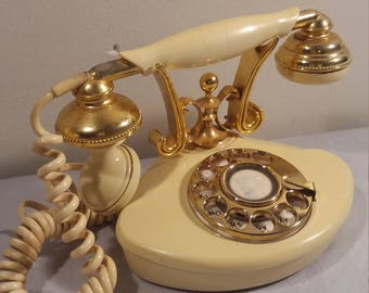 1970s GTE Rotary Princess Phone