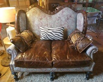 Western Love Seats (King Ranch Saddle Shop)