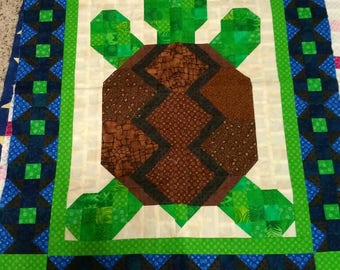 Turtle Bedding Etsy