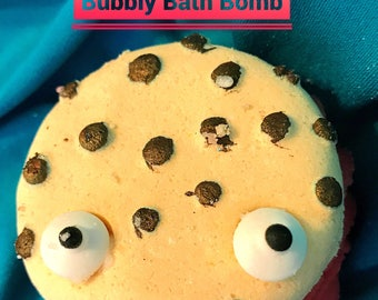 Cookie Monster Bubbly Bath Bomb