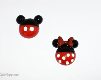 Mickey and Minnie Mouse Resin R450