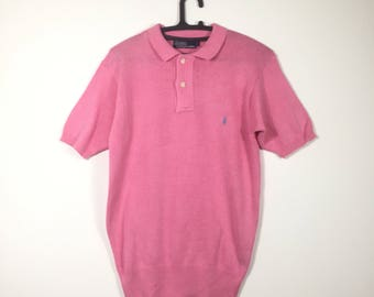 Free Shipping Vintage 90s POLO RALPH LAUREN knit