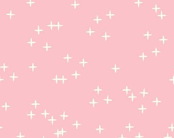 Pink Wink Organic Knit // Birch Fabrics  // Organic Cotton Knit