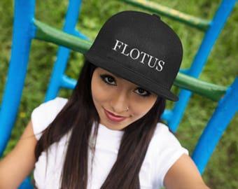 FLOTUS Hat Flat Bill Cap