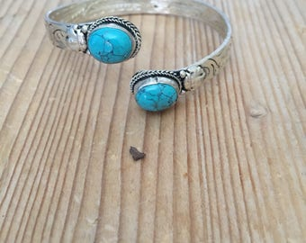 Two stone bracelet