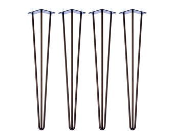 4 x Hairpin Legs - Bar - 40 inch/ 102cm (All Styles and Finishes)