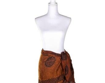 Half Sarong Kedua with Celtic Design