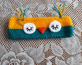 Child's owl earwarmers