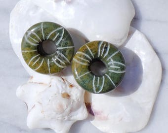 Spreaders in the Mexico jade - 22 mm (Toltec lot)